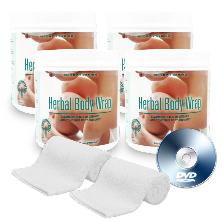 Lose inches in 2 hours with Herbal Body Wraps...all in the comfort of your own home!